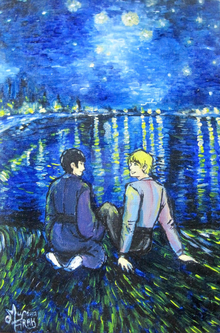 APH : Under The Starry Night by thecarefree