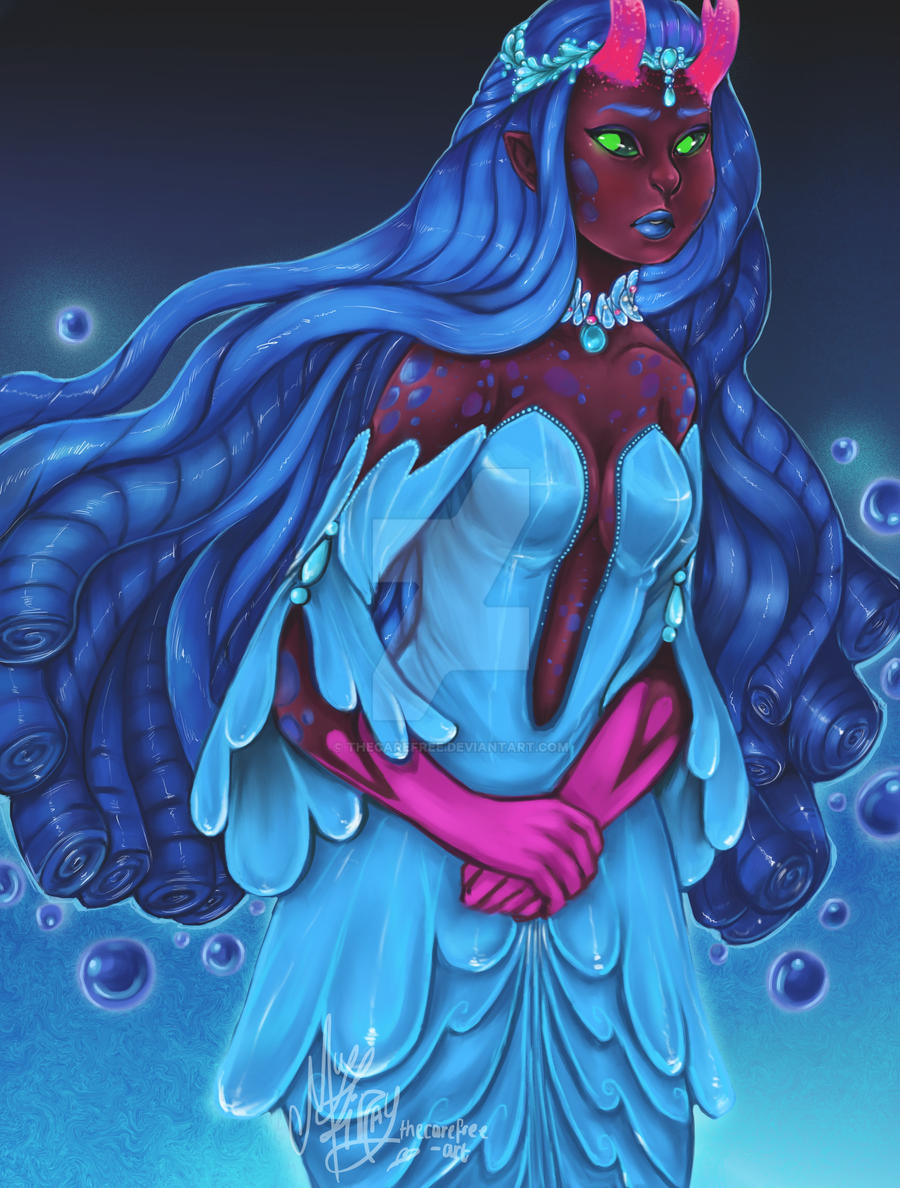 AVA'S DEMON : WATER MAIDEN by thecarefree
