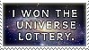 Universe Lottery Stamp by Synicalsel