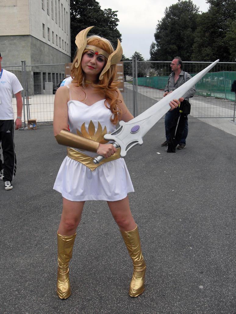 She-Ra - He-Man by Sayenix