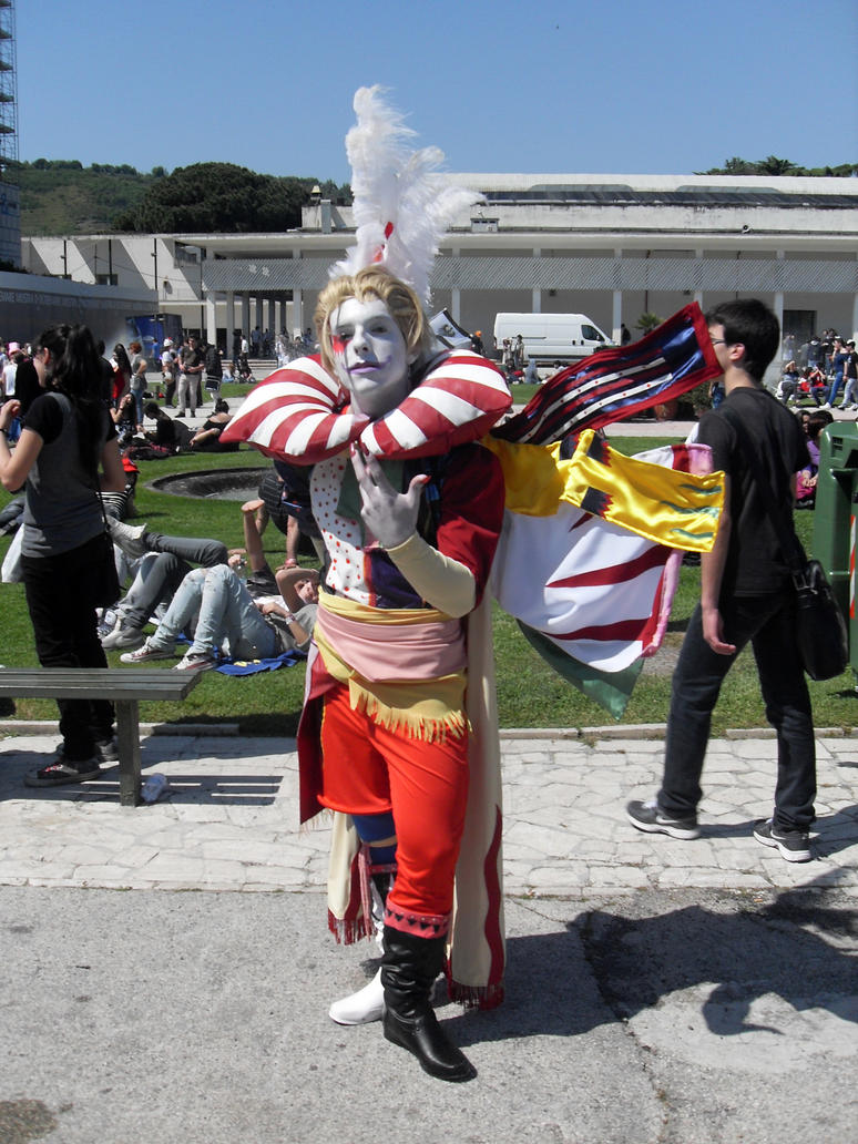 Kefka - Final Fantasy VI by Sayenix