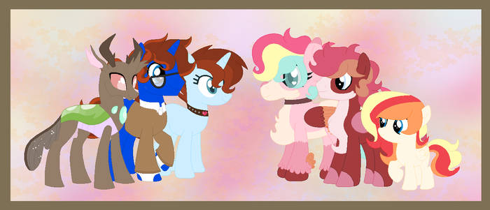 The Snogpaw family picture by HeartpawPhoenix