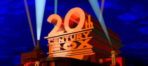 20th Century Fox 1978 Cannonball Run Coloring Logo