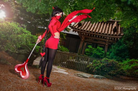 Heartseeker Akali by Miyuki Cosplay