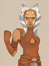 ahsoka by eve-ko