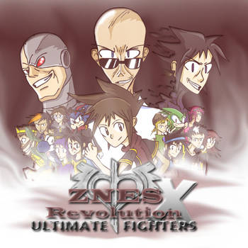 Ultimate Fighters Cover Art by zxnes