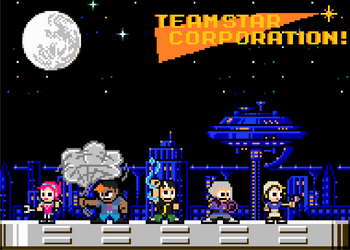 TSC 8-Bit Wallpaper by zxnes