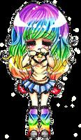 A Sad Rainbow by Lettelira