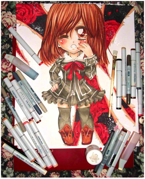 Yuuki Chibi Poster by Lettelira