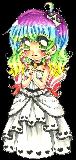 Rainbow Princess Ducky. by Lettelira