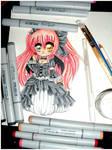 Gothic Lolita Chibi WIP