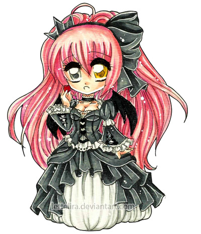 The Fallen Gothic Lolita Princess by Lettelira