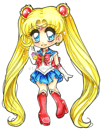 Sailor Moon by Lettelira