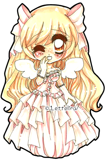 Pastel Chibi Princess Victoria by Lettelira