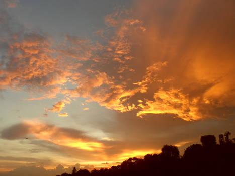 Skies Ablaze - Golden