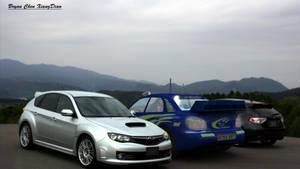 CG Car parked