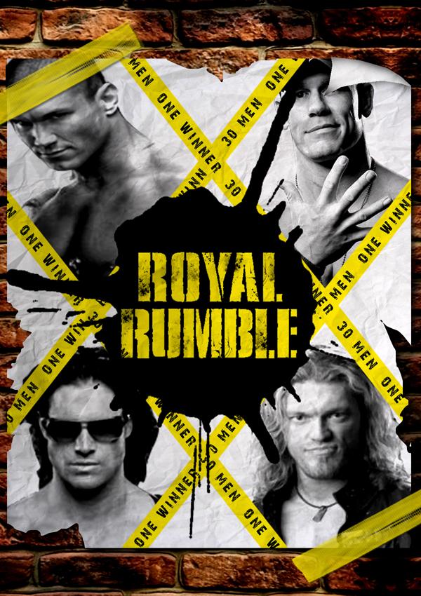 Royal Rumble 2011 Poster V1 by BiggertMedia
