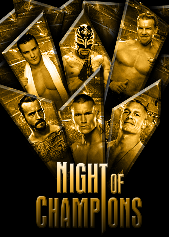 WWE Night of Champions 2011 by BiggertMedia
