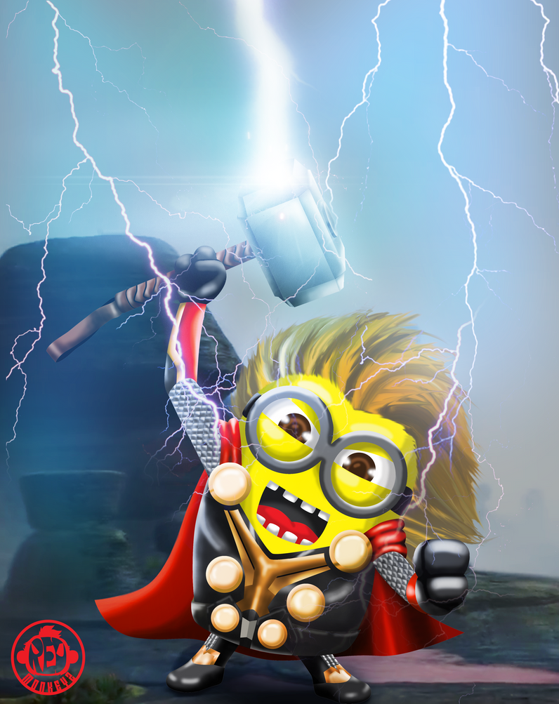 Minion thor by gopi93