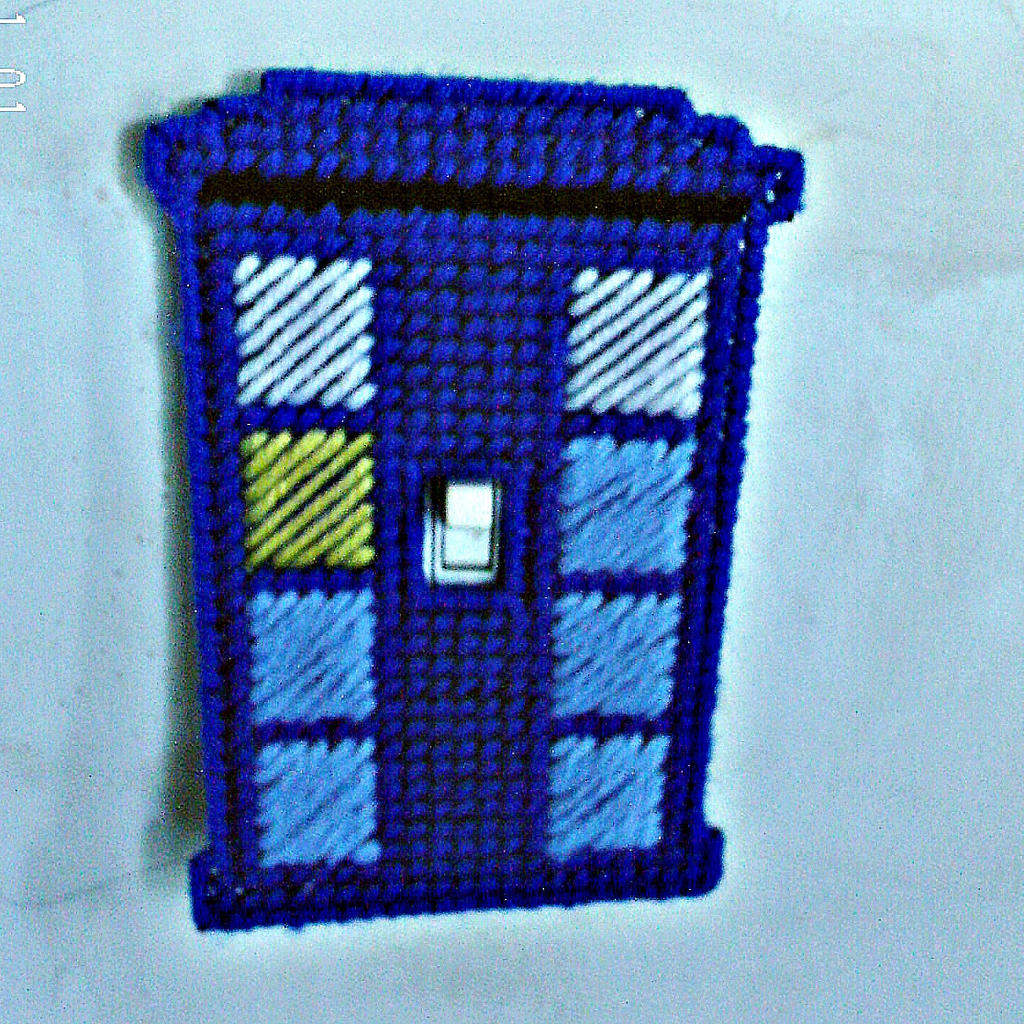 Tardis light switch cover by agorby00 on deviantart for Tardis light switch cover
