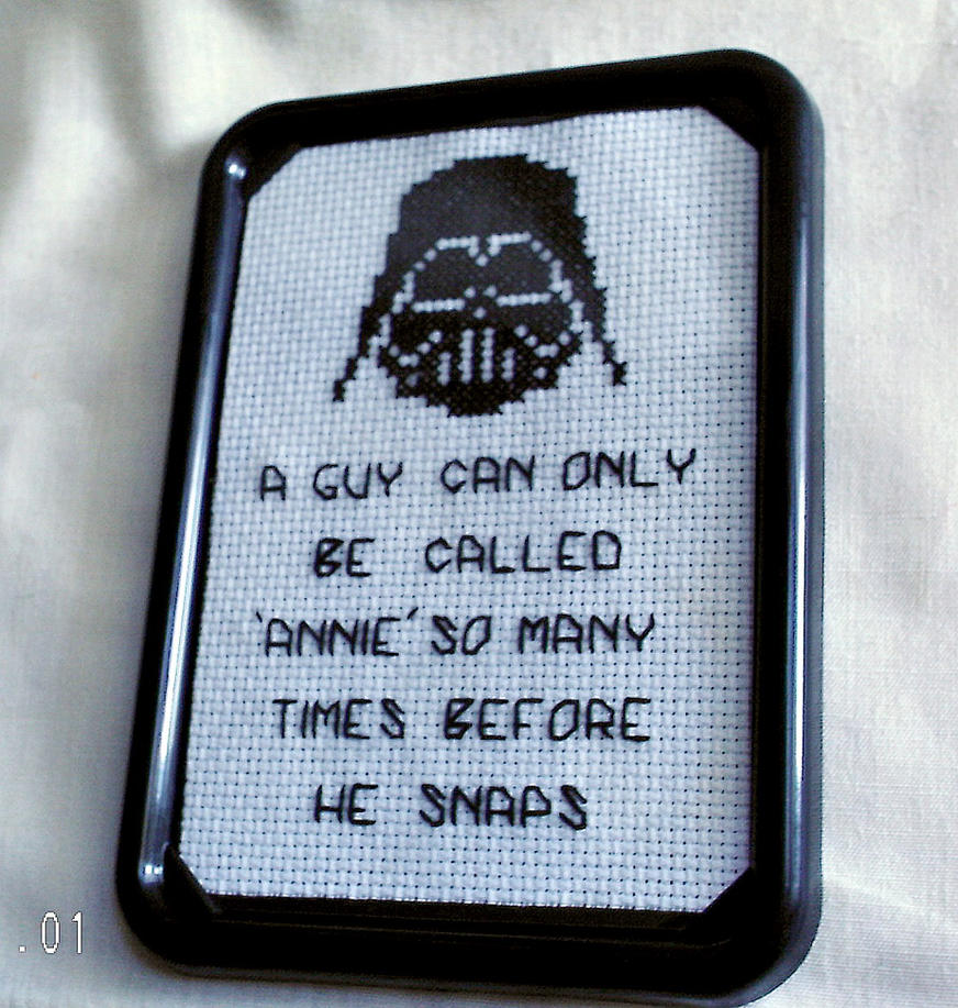 Star Wars Love Quotes Star Wars Inspired Cross Stitch Quoteagorby00 On Deviantart