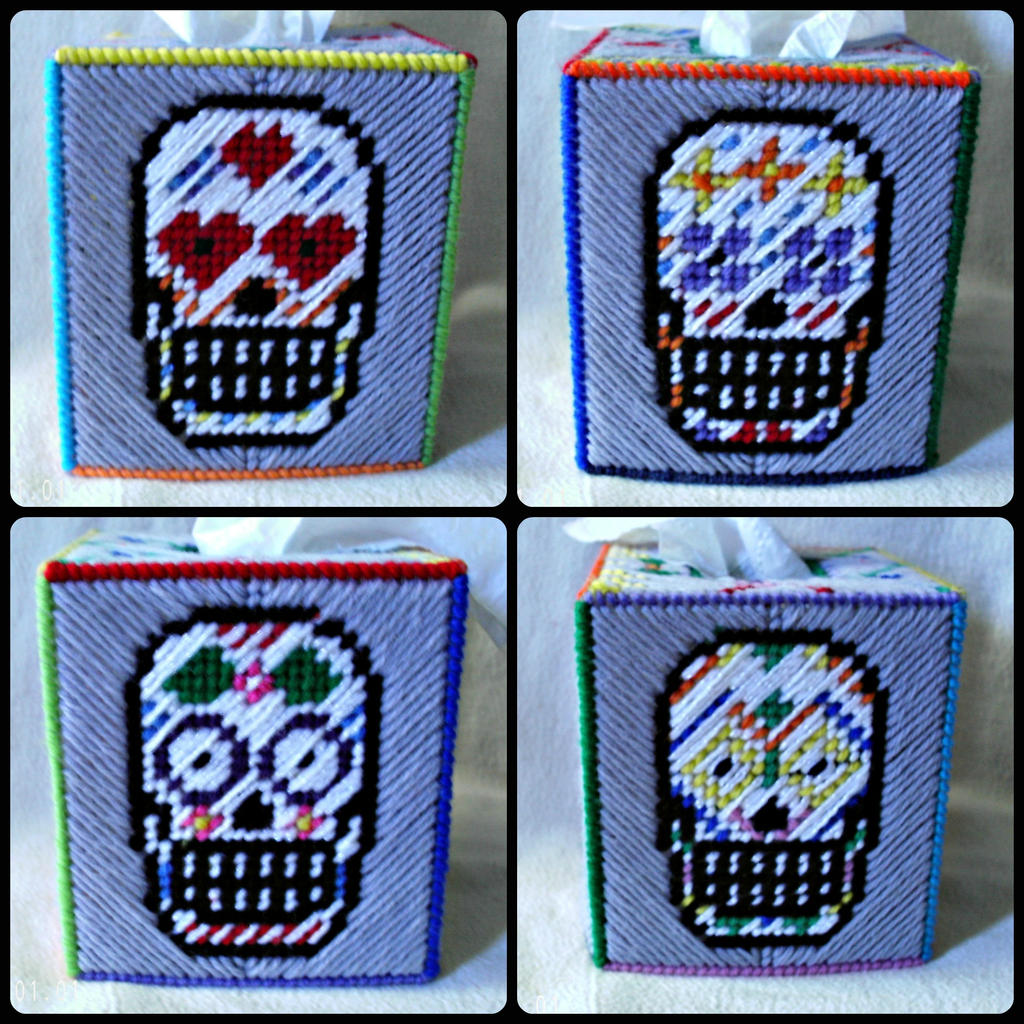 Witty image in free printable plastic canvas patterns skulls