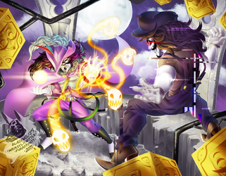 Alchemist vs Vario by IsadoraBelli