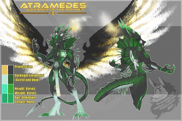 Commission - Atramedes by IsadoraBelli