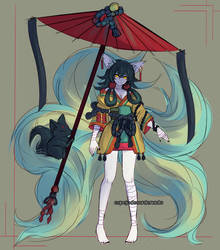CLOSED AUCTION -SB 15 USD- Kemonomimi Concept #037 by espejodesordenado