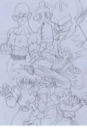 Roots: A Dragon Ball Fan Art by Goldenboy91
