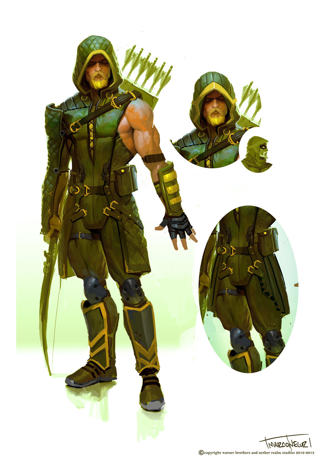 green arrow by marconelor