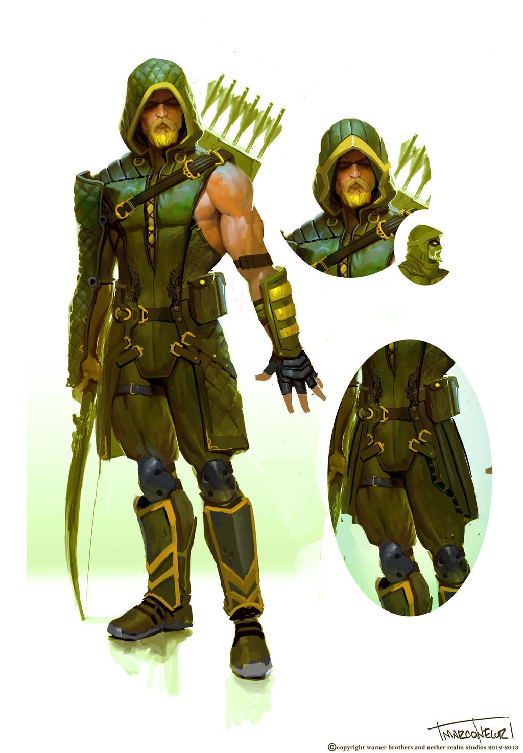green arrow by marconelor