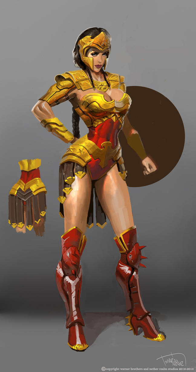 Wonder Woman regime costume by marconelor