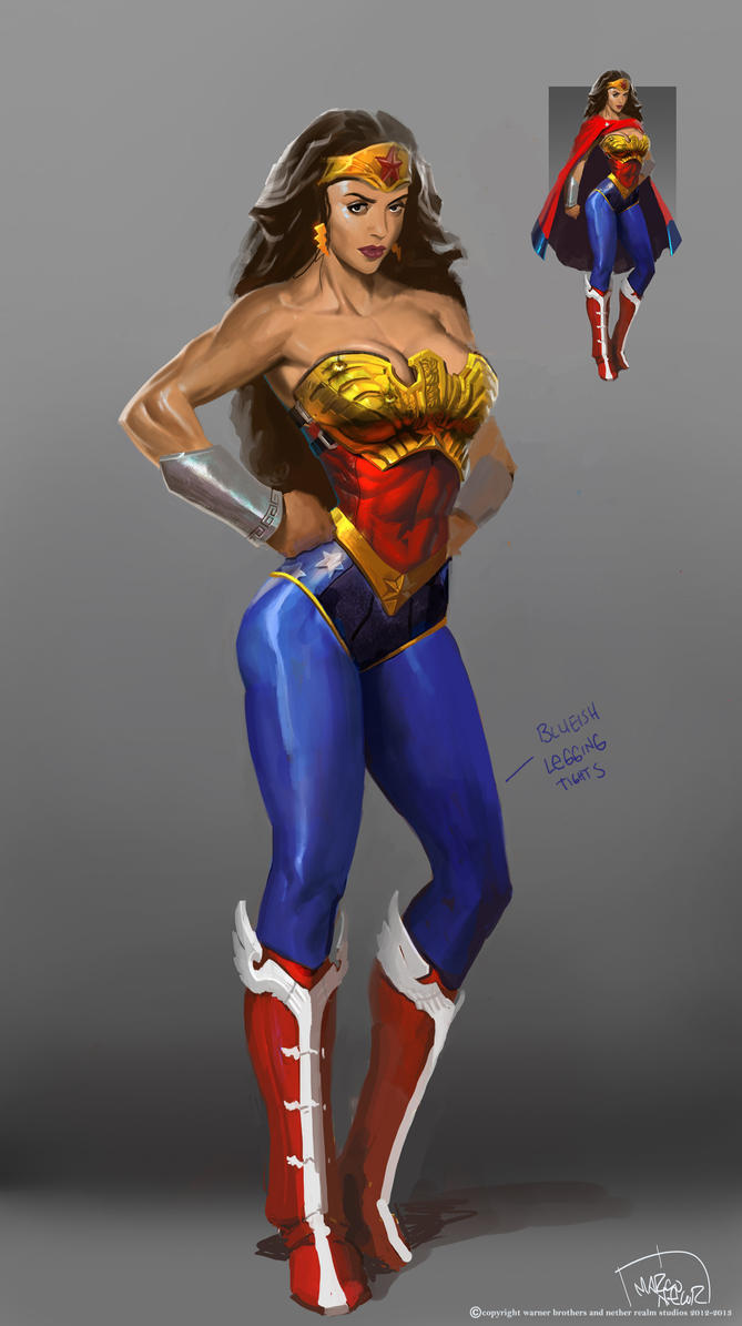Wonder Woman main costume by marconelor