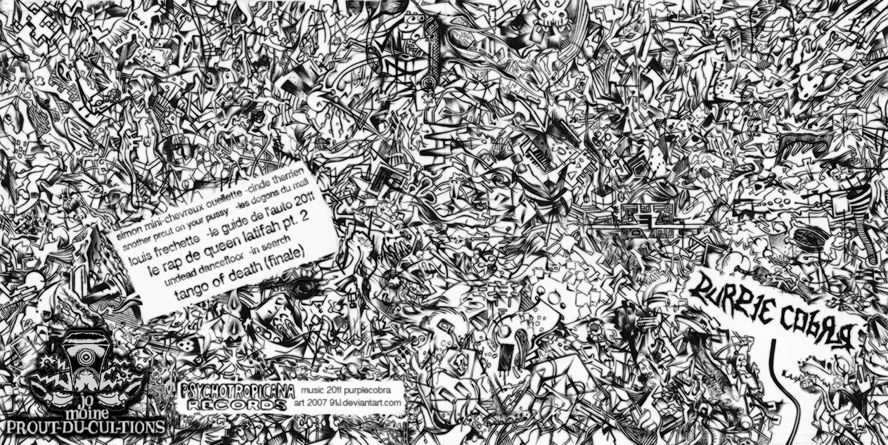 Purplecobra 2011 CD front and back art (2007)