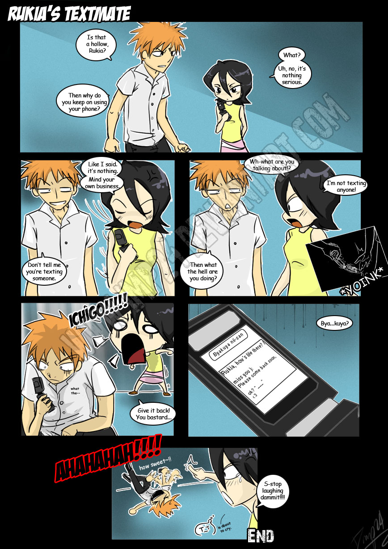 Rukia's Textmate by imp24
