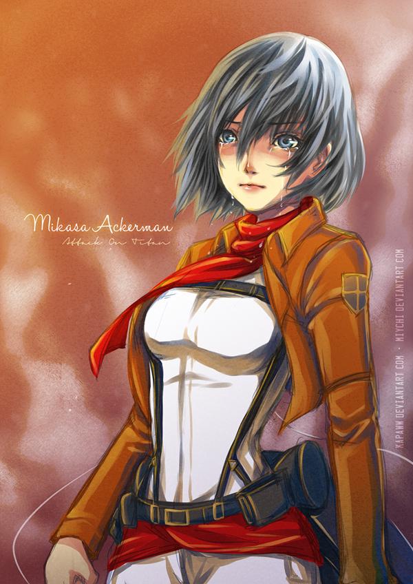 Shigeki no Kyojin - Mikasa Ackerman by miychi