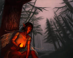 ::Faerie Fire by AshenWolf