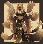 gaia online gold goddess adoptable!OPEN FOR $35