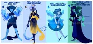 Lazuli Gem Adoptables mixed price! 1/4 OPEN