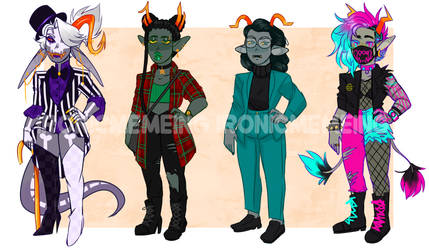 Mini homestuck troll adopts 2 ! SOLD