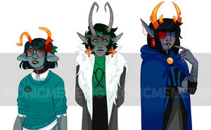 Homestuck Troll adopts 3/3 SOLD