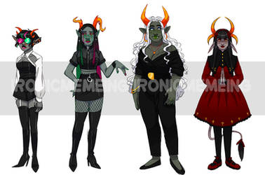 Homestuck Troll adopts 4/4 SOLD