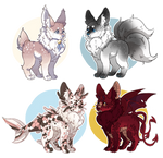 Buppy feral adopts 1/4 OPEN