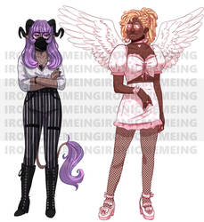 $20 DEMON AND ANGEL ADOPTS SOLD
