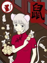 Chinese Zodiac Rat Girl