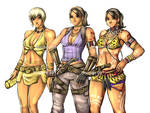 RE5 - sheva all outfits