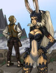 FFXII - fran and balthier