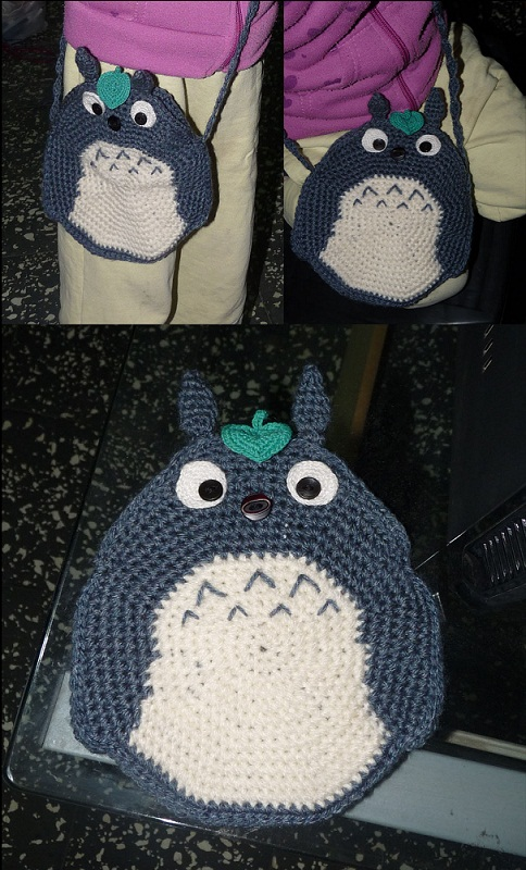 Totoro bag by Rioco-Saito on deviantART