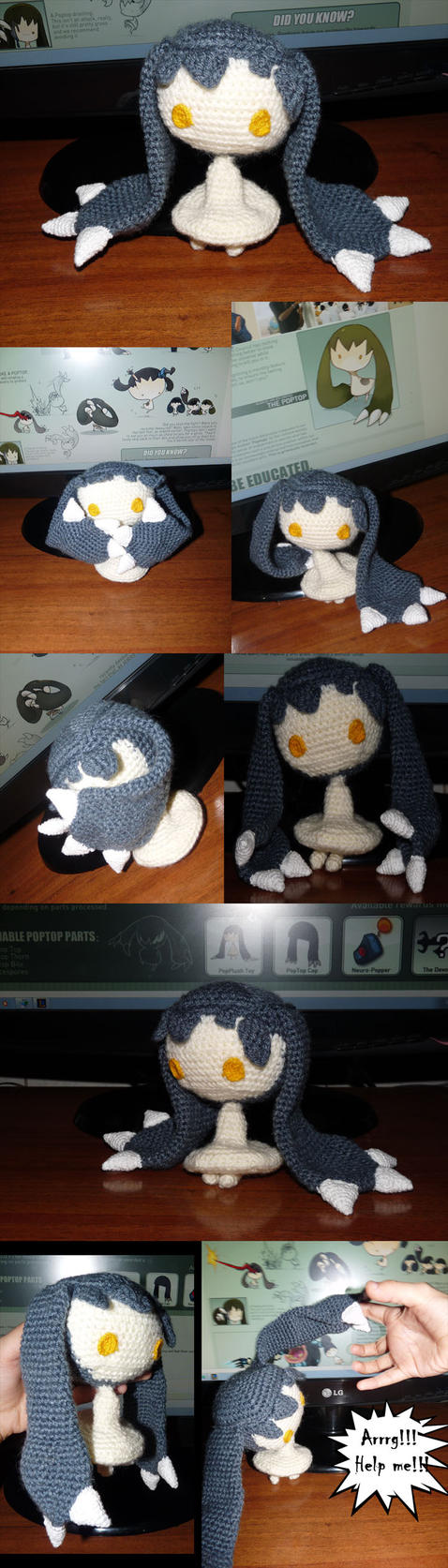 PopPlush Toy by Rioco-Saito